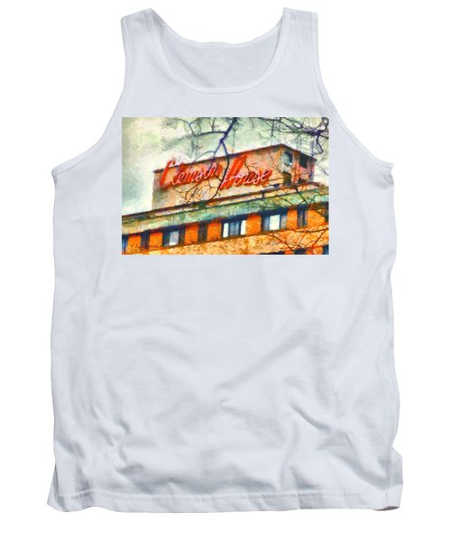 Clemson House Tank Top by Lynne Jenkins