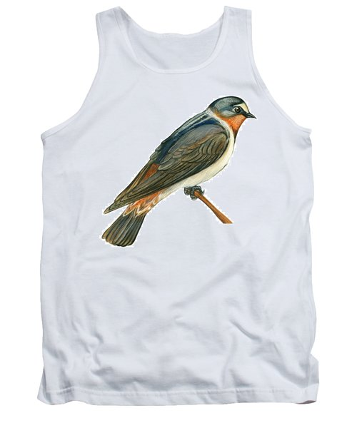 Cliff Swallow  Tank Top by Anonymous