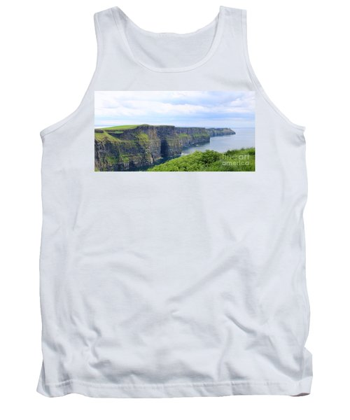 Cliffs Of Moher Panorama 3 Tank Top