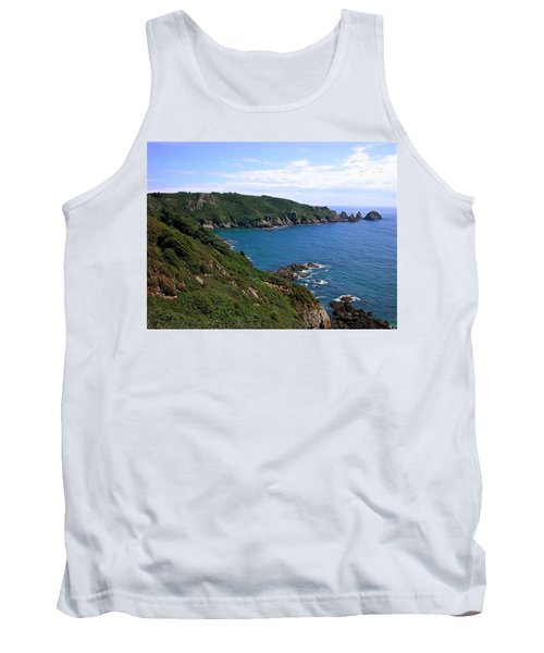 Cliffs On Isle Of Guernsey Tank Top