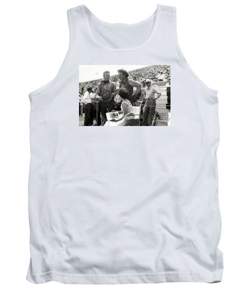 Clint Eastwood  Eric Fleming Characters Rowdy Yates Salinas California 1962 Tank Top by California Views Mr Pat Hathaway Archives