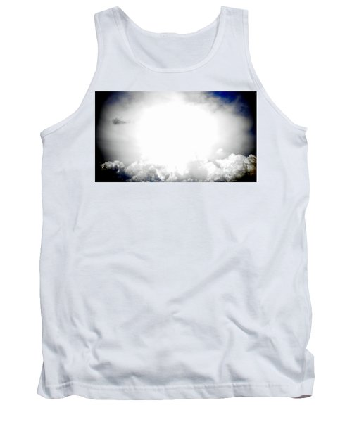 Cloudburst Sky Celestial Cloud Art Xl Resolution Tank Top