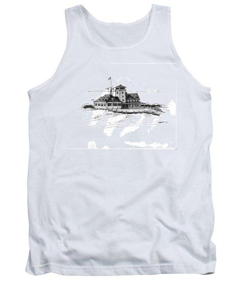 Coast Guard Station 2 Ocracoke 1970s Tank Top