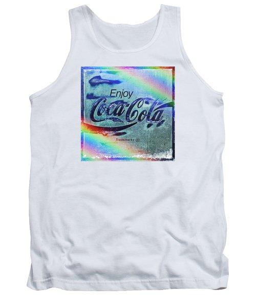 Coca Cola Rainbow Tank Top