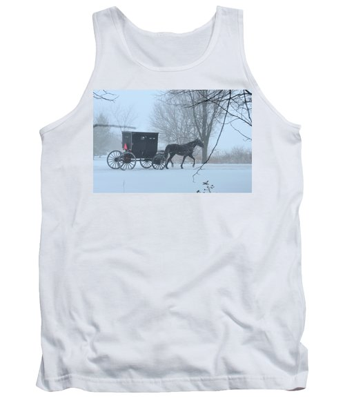 Cold Amish Morning Tank Top