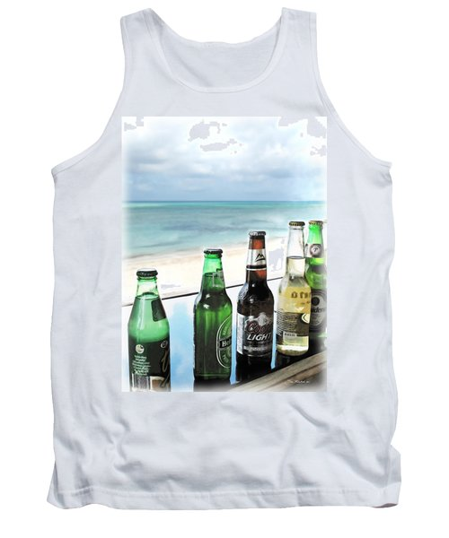 Cold Beers In Paradise Tank Top