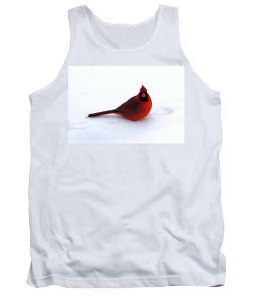 Tank Top featuring the photograph Cold Seat by Alyce Taylor