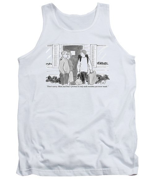 College Student Leaving Parents Tank Top