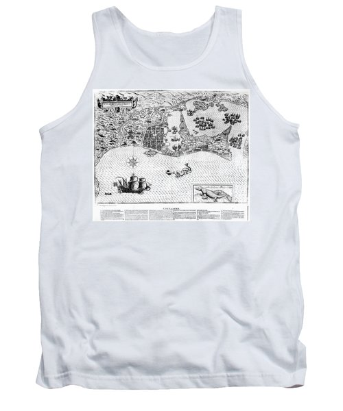 Colombia Cartagena, 1600s Tank Top