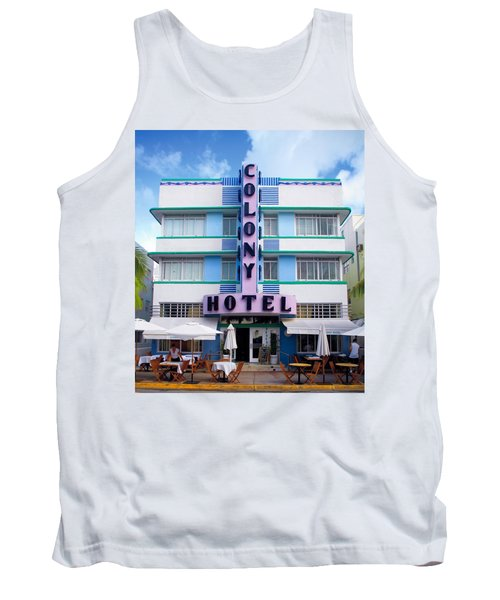 Colony Hotel Daytime Tank Top