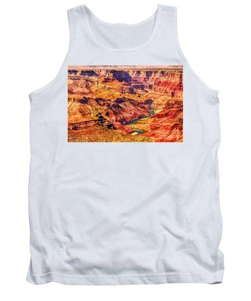 Colorado River 1 Mi Below 100 Miles To Vermillion Cliffs Utah Tank Top