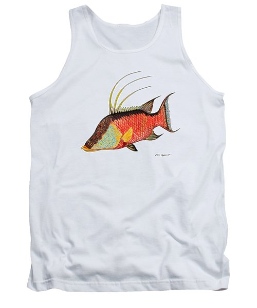 Colorful Hogfish Tank Top