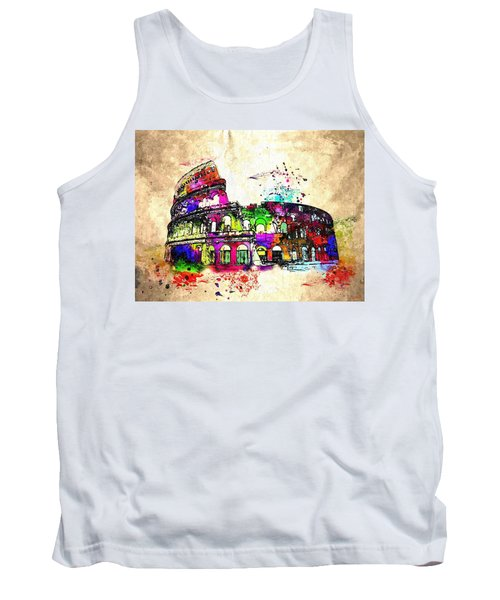 Colosseo Grunge  Tank Top
