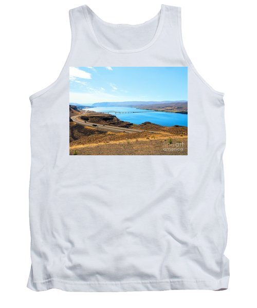 Columbia River From Overlook Tank Top