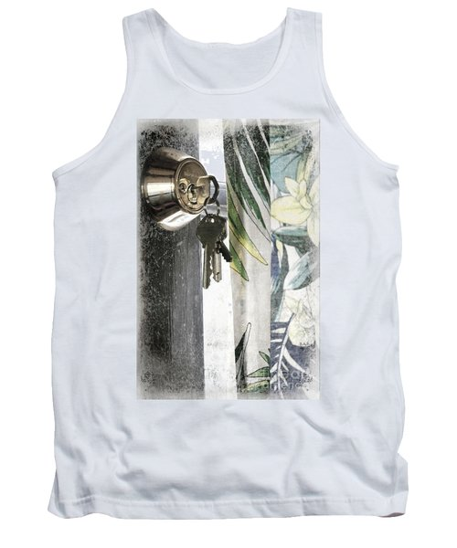 Tank Top featuring the photograph Come Back Soon by Ellen Cotton
