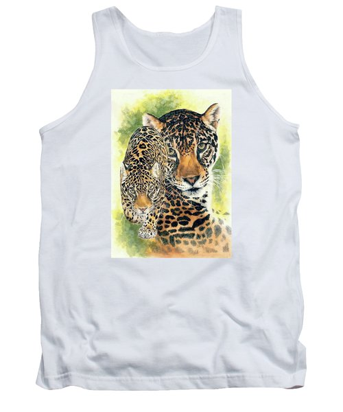 Tank Top featuring the mixed media Compelling by Barbara Keith