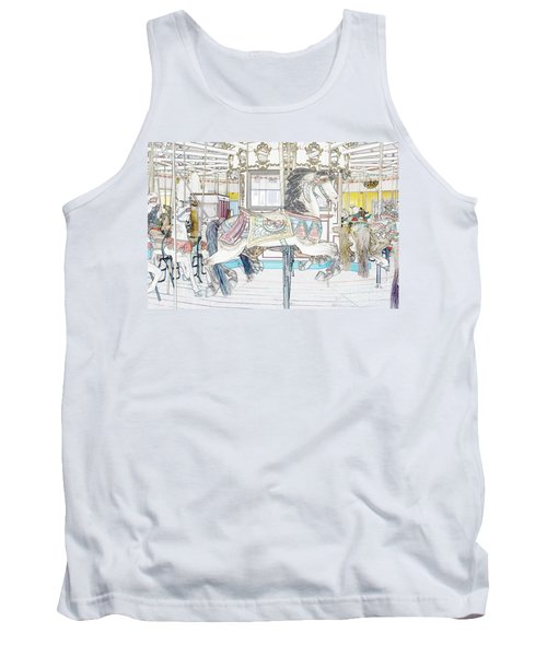 Coney Island Carousel Tank Top