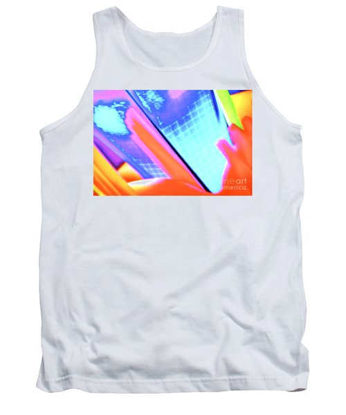 Consuming The Grid Tank Top by Xn Tyler