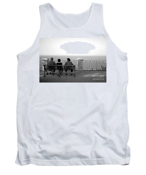 Conversations By The Sea Tank Top