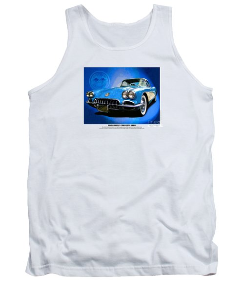 Tank Top featuring the photograph Cool Corvette by Kenneth De Tore