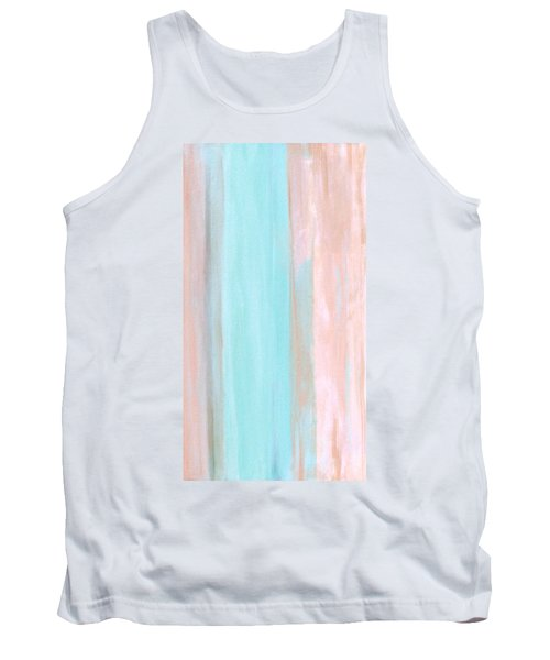 Tank Top featuring the painting Cool Jade by Stephanie Grant