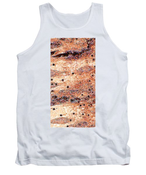 Tank Top featuring the photograph Copper Lake 2 by Stephanie Grant
