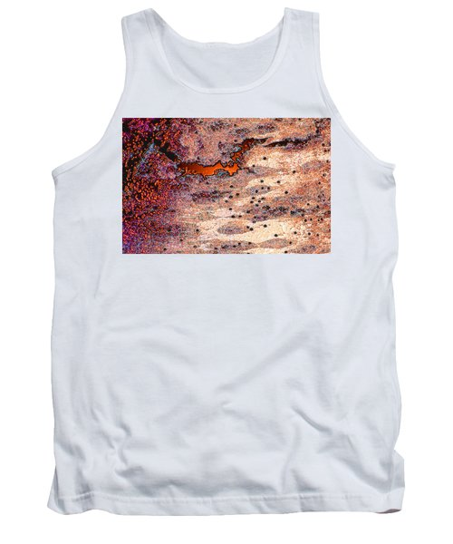 Tank Top featuring the photograph Copper Landscape by Stephanie Grant