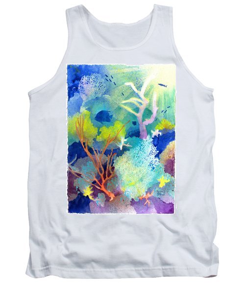Coral Reef Dreams 1 Tank Top