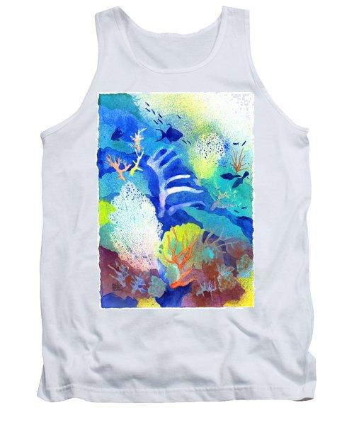 Coral Reef Dreams 3 Tank Top