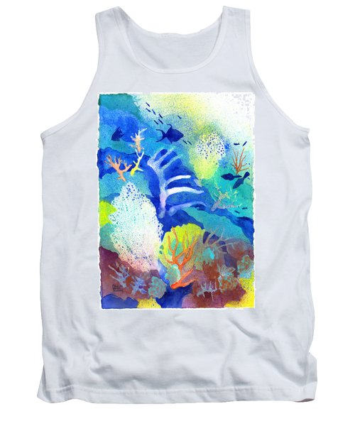 Coral Reef Dreams 3 Tank Top