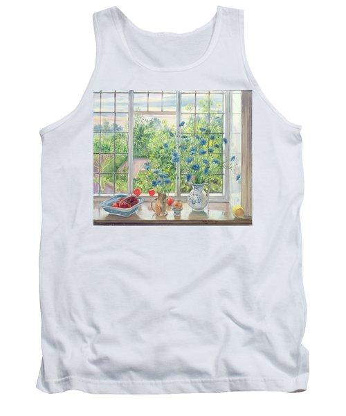Cornflowers And Kitchen Garden Tank Top
