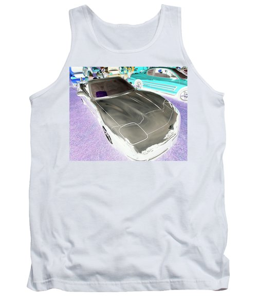 Tank Top featuring the photograph Corvette 2003 50th Anniv. Edition by John Schneider