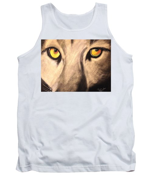 Cougar Eyes Tank Top