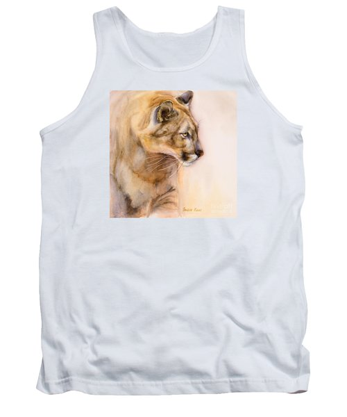 Cougar On The Prowl Tank Top by Bonnie Rinier