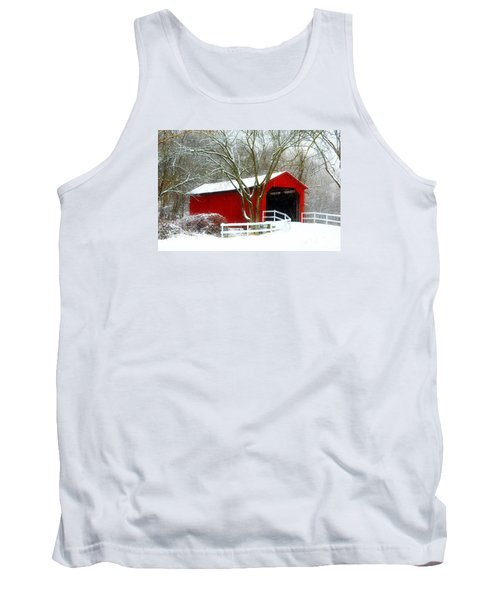 Cover Bridge Beauty Tank Top by Peggy Franz