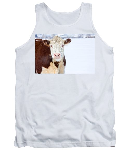 Cow - Fine Art Photography Print Tank Top