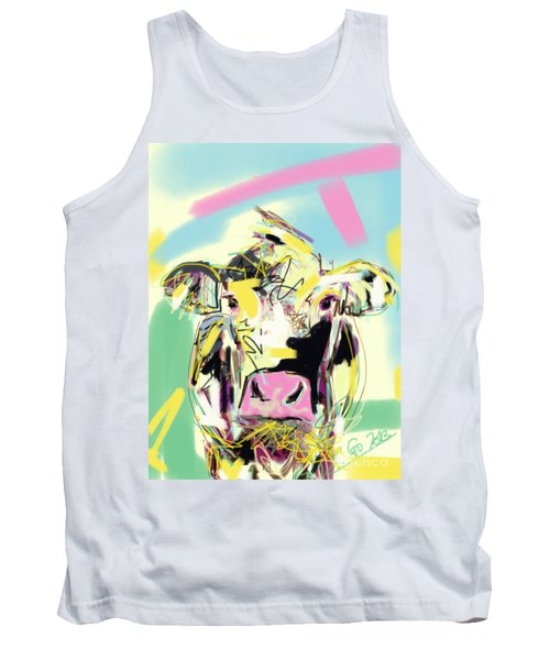 Cow- Happy Cow Tank Top