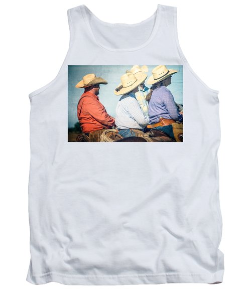 Tank Top featuring the photograph Cowboy Colors by Steven Bateson