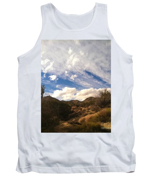 Coyote Wash Dressed Up Tank Top