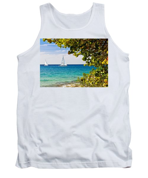 Cozumel Sailboats Tank Top