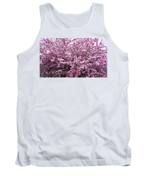 Crab Apple Tree Tank Top by Aimee L Maher Photography and Art Visit ALMGallerydotcom
