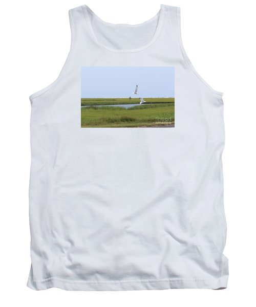 Tank Top featuring the photograph Crabber by David Jackson