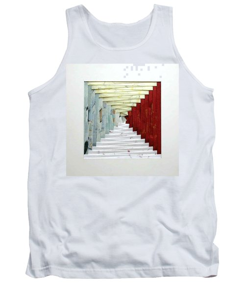 Crooked Staircase Tank Top