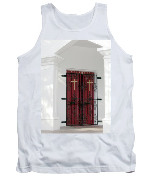 Key West Church Doors Tank Top