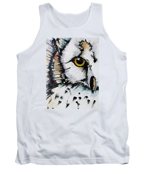 Tank Top featuring the painting Crown by Nicole Gaitan