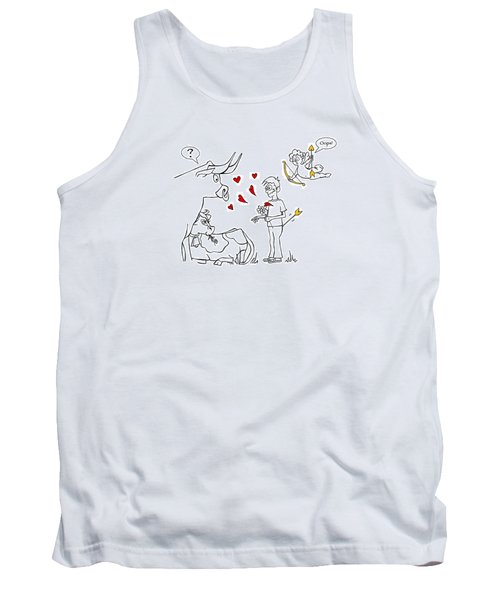 Cupid Valentines Tank Top