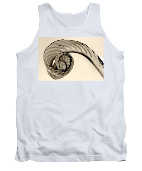 Curled Tank Top
