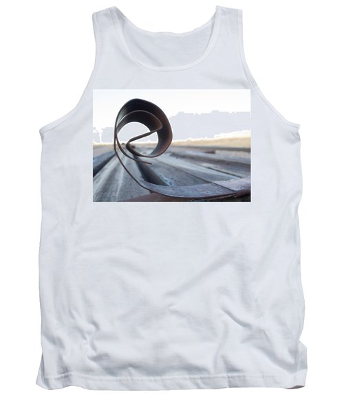 Curled Steel Tank Top