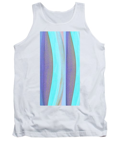 Tank Top featuring the painting Curves2 by Stephanie Grant