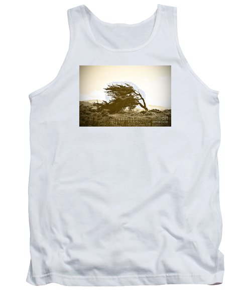 Cypress Trees In Monterey Tank Top